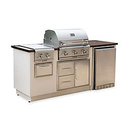 Saber® EZ Outdoor Kitchen with Fridge