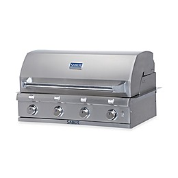 Saber® Stainless Steel Built-In Gas Grill and Accessories