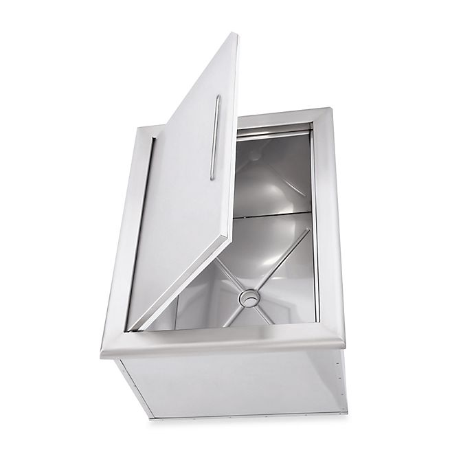 Alternate image 1 for Saber® Stainless Steel Drop-in Ice Chest