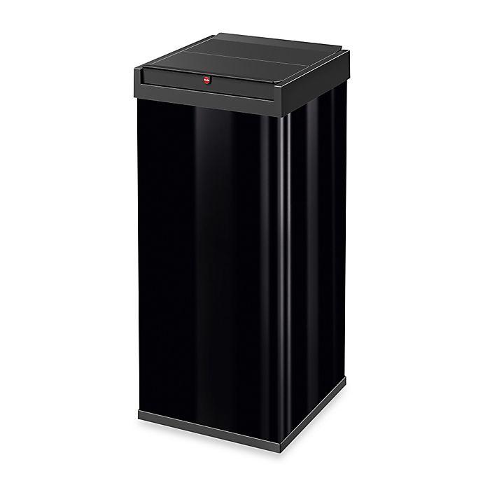 Alternate image 1 for Hailo™ Big Box Rectangular 80-Liter Swing Trash Can
