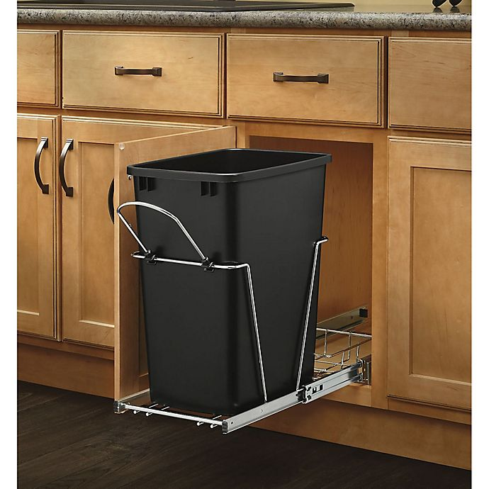 Rev A Shelf Rv 12kd 18c S Single 35 Qt Pull Out Black And
