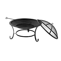 Sun Joe® Fire Joe Wood Burning 30-Inch Steel Fire Pit