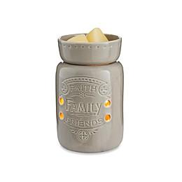 Faith Family Friends Midsize Candle Warmer