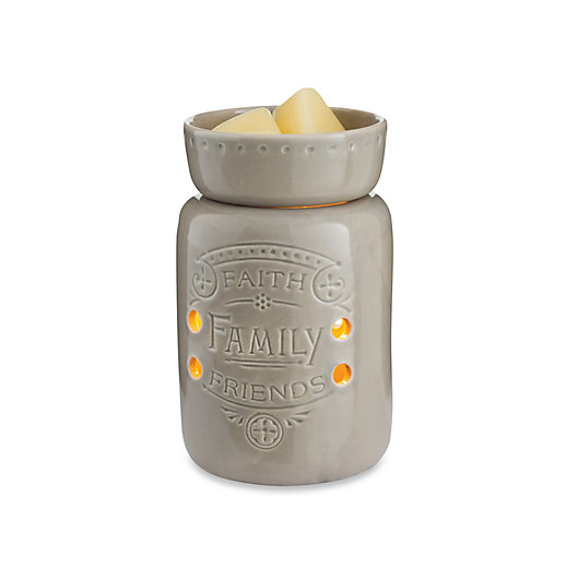 Alternate image 1 for Faith Family Friends Midsize Candle Warmer