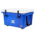 Orca 26 qt. Ice Retention Cooler in Blue/White
