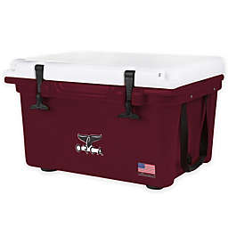 Orca 26 qt. Ice Retention Cooler in Maroon/White