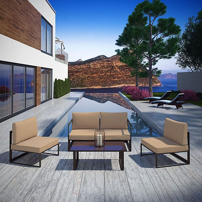 Alternate image 1 for Modway Fortuna Outdoor Patio Furniture