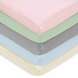 TL Care® Cotton Jersey Fitted Playard Sheet