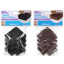 KidKusion® 4-Pack Jumbo Soft Corner Cushion