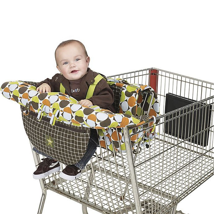 Alternate image 1 for J is for Jeep® Shopping Cart and High-Chair Cover
