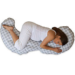 Boppy® Slipcovered Contour Total Body Support Pillow in Ring Toss