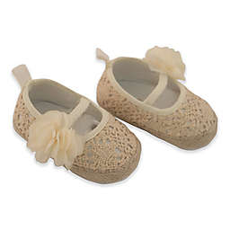 Rising Star™ Crochet Espadrille with Flower