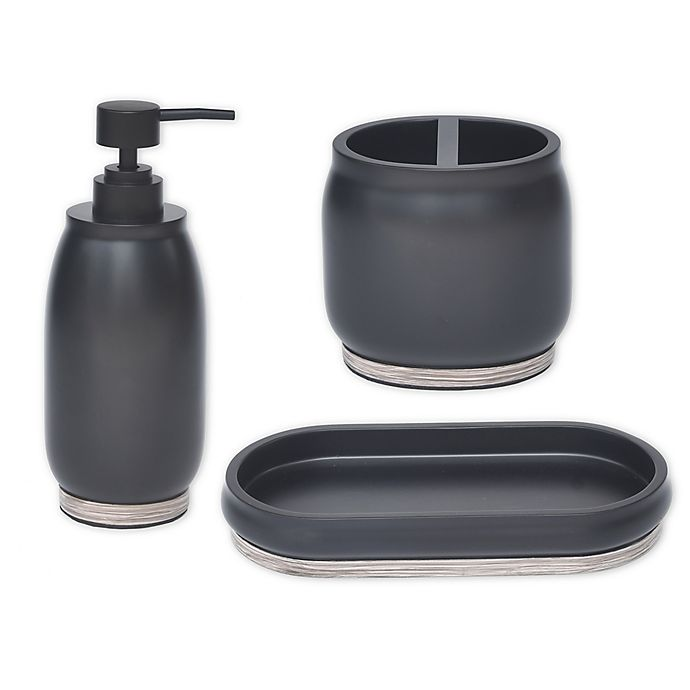 Alternate image 1 for Lifestyle Home Reaction 3-Piece Bath Accessory Set