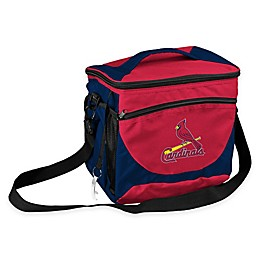MLB St. Louis Cardinals 24-Can Cooler Bag in Navy/Red