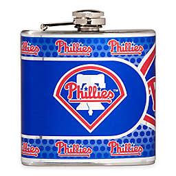 MLB Philadelphia Phillies Stainless Steel Metallic Hip Flask