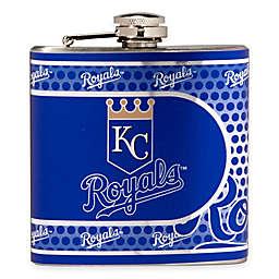 MLB Kansas City Royals Stainless Steel Metallic Hip Flask
