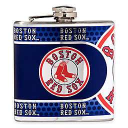 MLB Boston Red Sox Stainless Steel Metallic Hip Flask