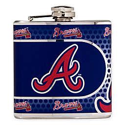 MLB Atlanta Braves Stainless Steel Metallic Hip Flask