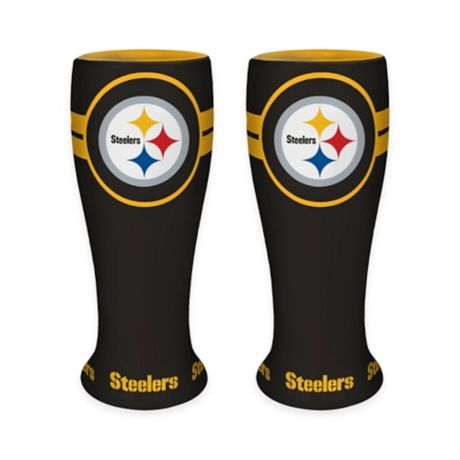 Nfl Pittsburgh Steelers Ceramic Collectible Mini Pilsner