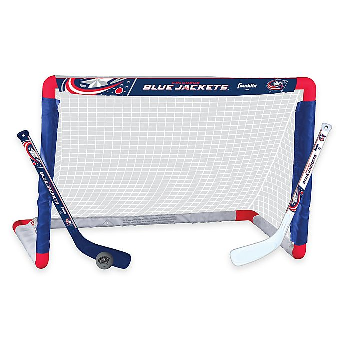 Alternate image 1 for NHL Columbus Blue Jackets Mini Hockey Set