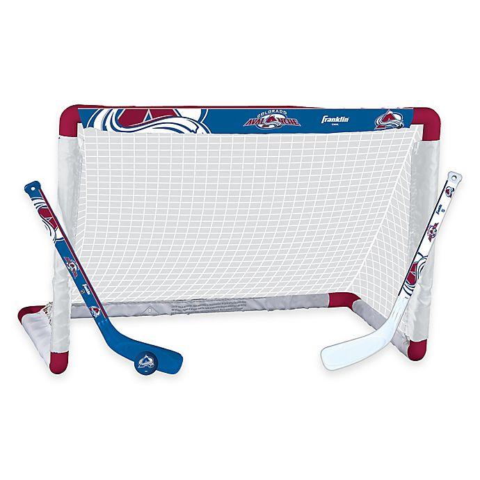 Alternate image 1 for NHL Colorado Avalanche Mini Hockey Set