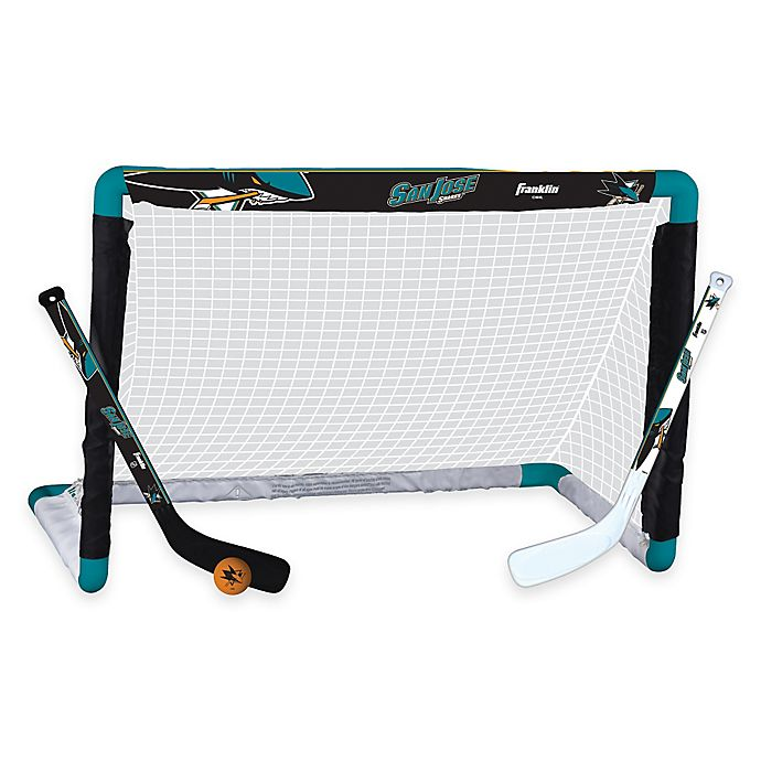 Alternate image 1 for NHL San Jose Sharks Mini Hockey Set