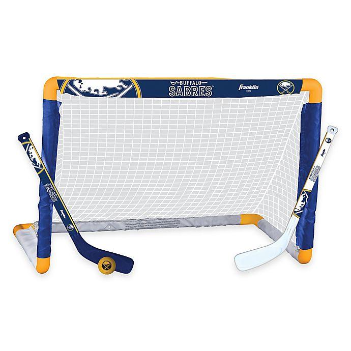 Alternate image 1 for NHL Buffalo Sabres Mini Hockey Set