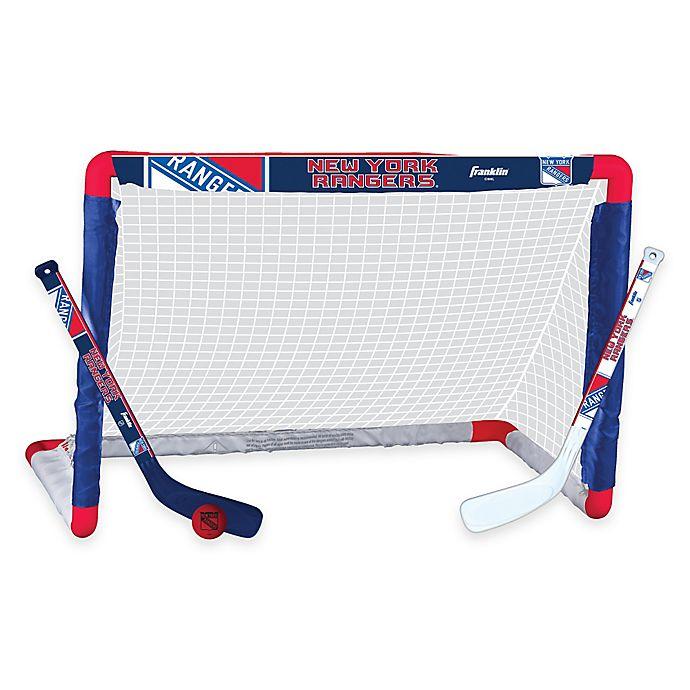 Alternate image 1 for NHL New York Rangers Mini Hockey Set