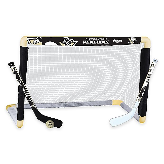 Alternate image 1 for NHL Pittsburgh Penguins Mini Hockey Set