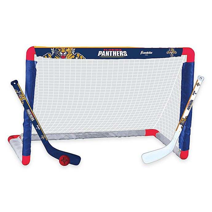 Alternate image 1 for NHL Florida Panthers Mini Hockey Set