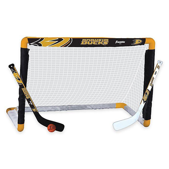Alternate image 1 for NHL Anaheim Ducks Mini Hockey Set