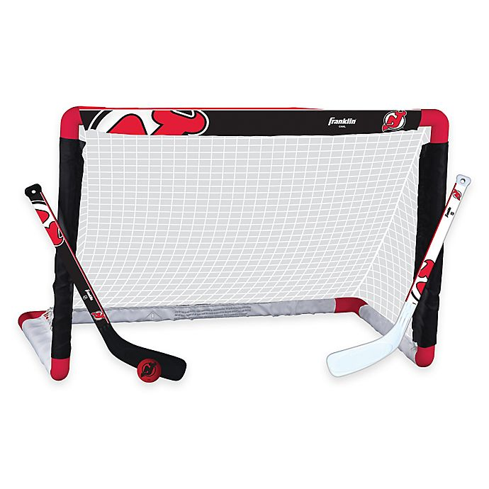 Alternate image 1 for NHL New Jersey Devils Mini Hockey Set