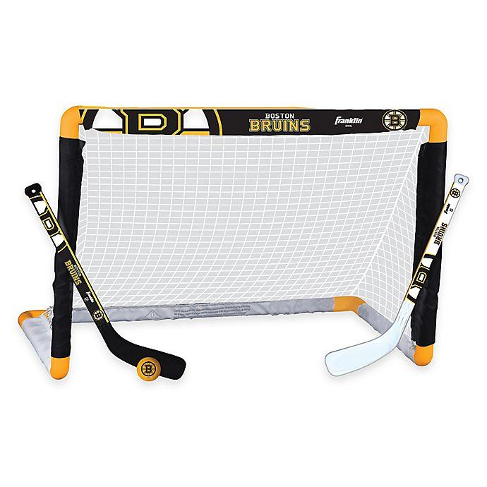 Alternate image 1 for NHL Boston Bruins Mini Hockey Set
