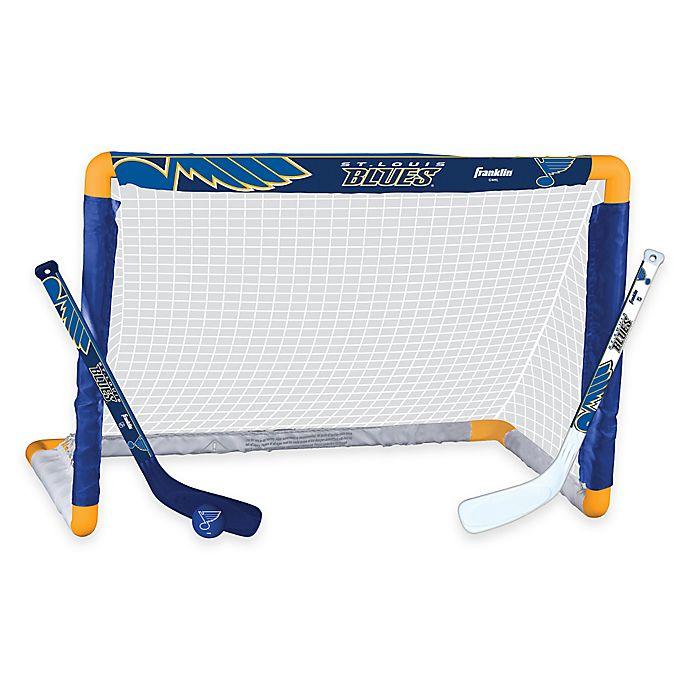 Alternate image 1 for NHL St. Louis Blues Mini Hockey Set