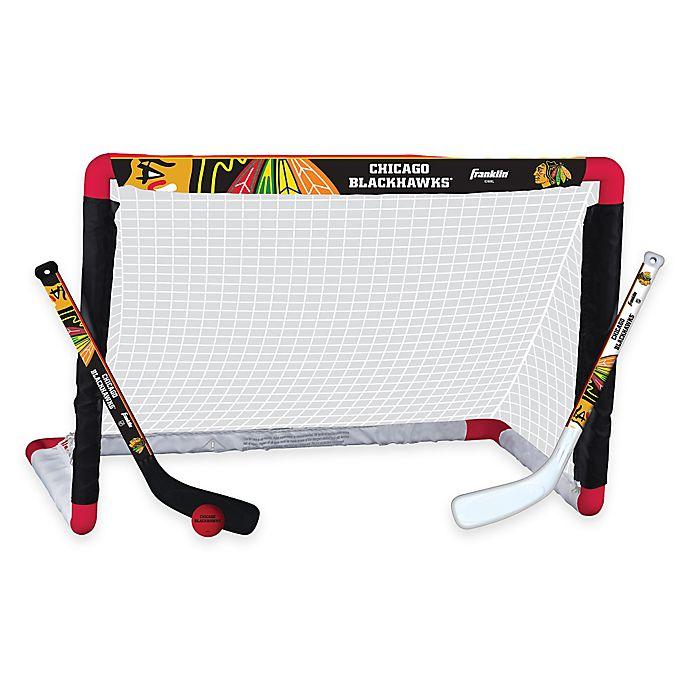 Alternate image 1 for NHL Chicago Blackhawks Mini Hockey Set