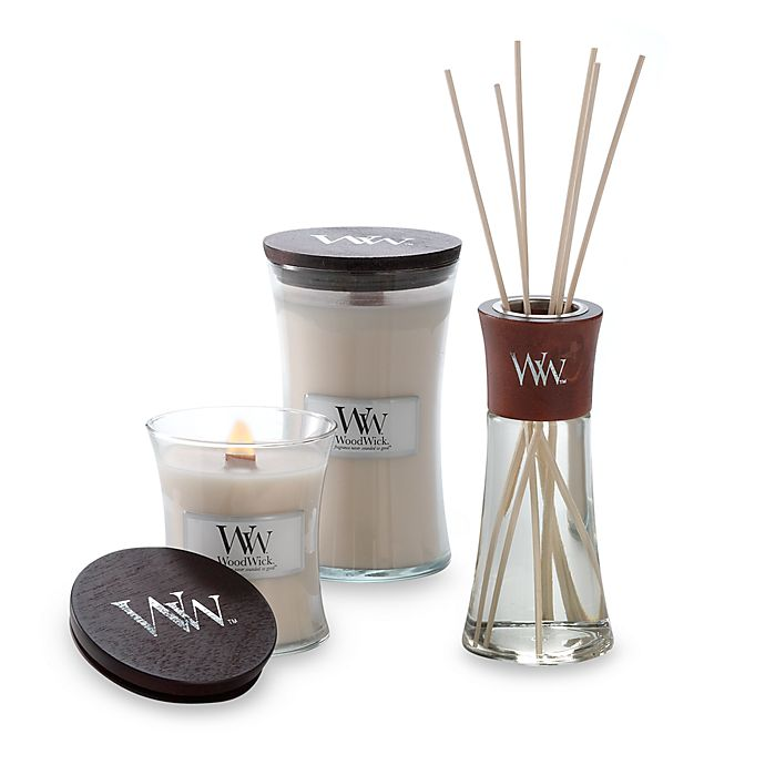 Alternate image 1 for WoodWick® Vanilla Bean Candles and Diffusers