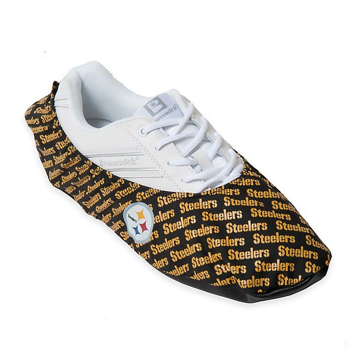 Alternate image 1 for NFL Pittsburgh Steelers Bowling Shoe Covers (Set of 2)