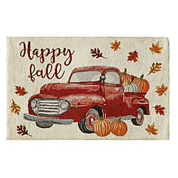 """""""Happy Fall"""" Vintage Truck Thanksgiving Placemat"""