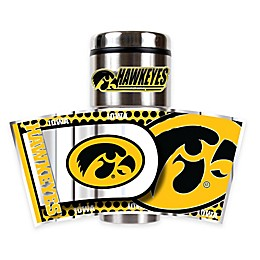 University of Iowa 16 oz. Metallic Tumbler