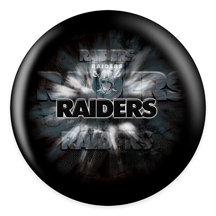 Alternate image 1 for NFL Oakland Raiders 12 lb. Bowling Ball