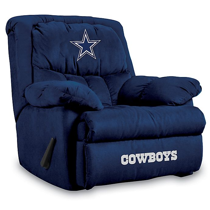 Alternate image 1 for NFL Dallas Cowboys Microfiber Home Team Recliner