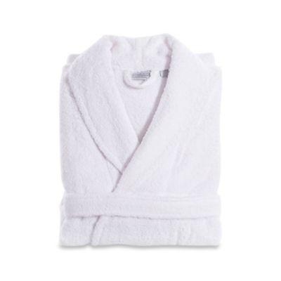 Linum Home Textiles Turkish Cotton Terry Unisex Bathrobe in White ... 1346a9eca