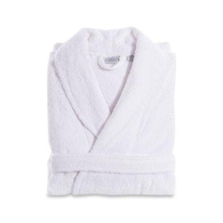 d730e5474f Linum Home Textiles Turkish Cotton Terry Unisex Bathrobe in White ...