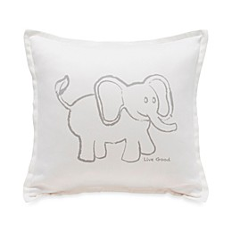 Live Good™ Organic Supima® Cotton Elephant Endangered Species Pillow