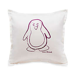 Live Good™ Organic Supima® Cotton Penguin Endangered Species Pillow