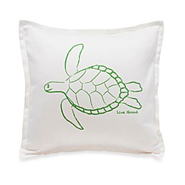 Live Good™ Organic Supima® Cotton Turtle Endangered Species Pillow