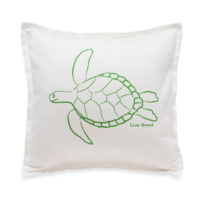 Alternate image 1 for Live Good™ Organic Supima® Cotton Turtle Endangered Species Pillow