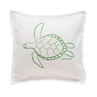 Live Good™ Organic Supima® Cotton Turtle Endangered Species Pillow