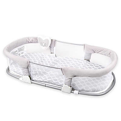 SwaddleMe® Deluxe By Your Side™ Sleeper in Grey