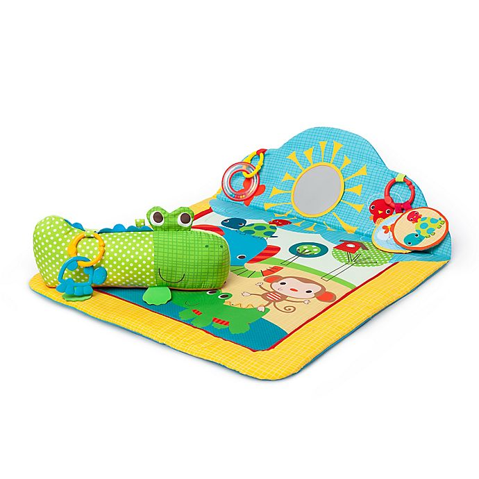 Bright Starts Cuddly Crocodile Play Mat Bed Bath And Beyond Canada